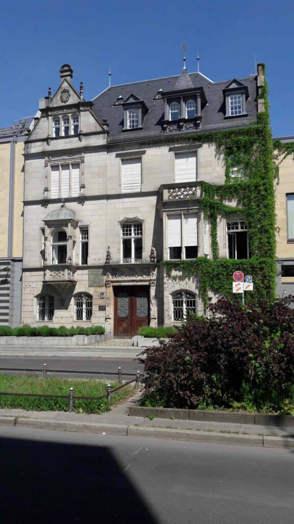 Villa Parey in der Sigismundstraße. Foto: Michael Klinnert