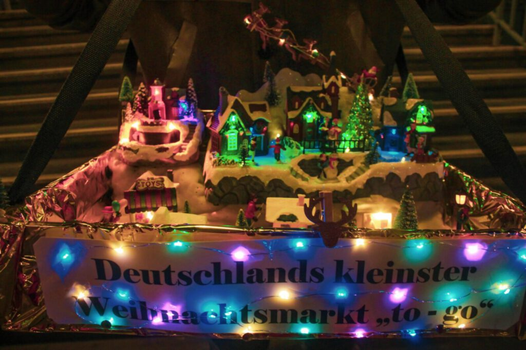 Kleinster Weihnachtsmarkt in Tiergarten